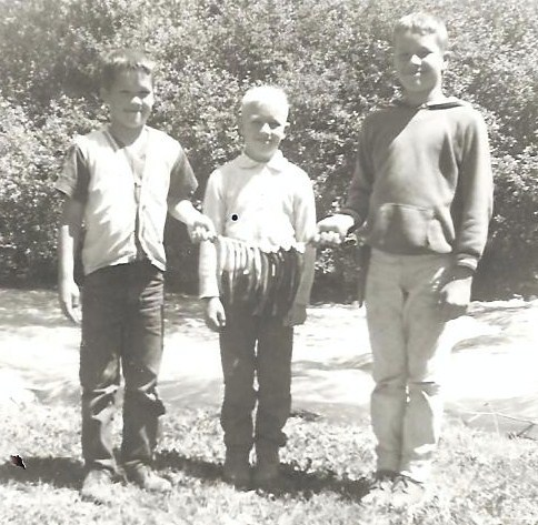 The Older Boys Fishing